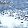 白川乡 五崮山 雪景