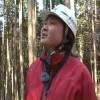 三河湾的护林女工